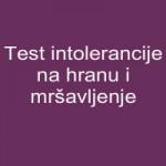 Test intolerancije na hranu i mršavljenje
