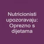 Nutricionisti upozoravaju: Oprezno s dijetama