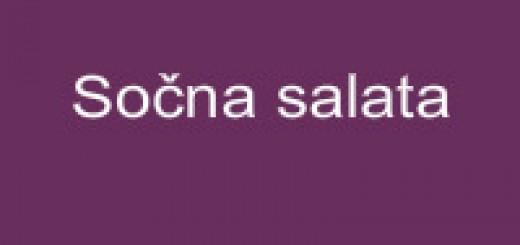 Sočna salata