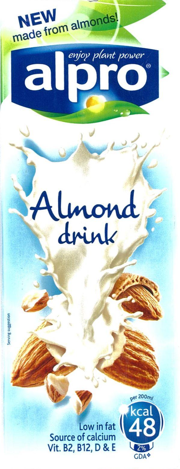 Bademovo mlijeko Alpro pakovanje