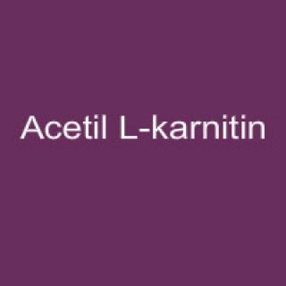 Acetil L-karnitin