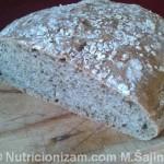 Kruh s brašnom od konoplje
