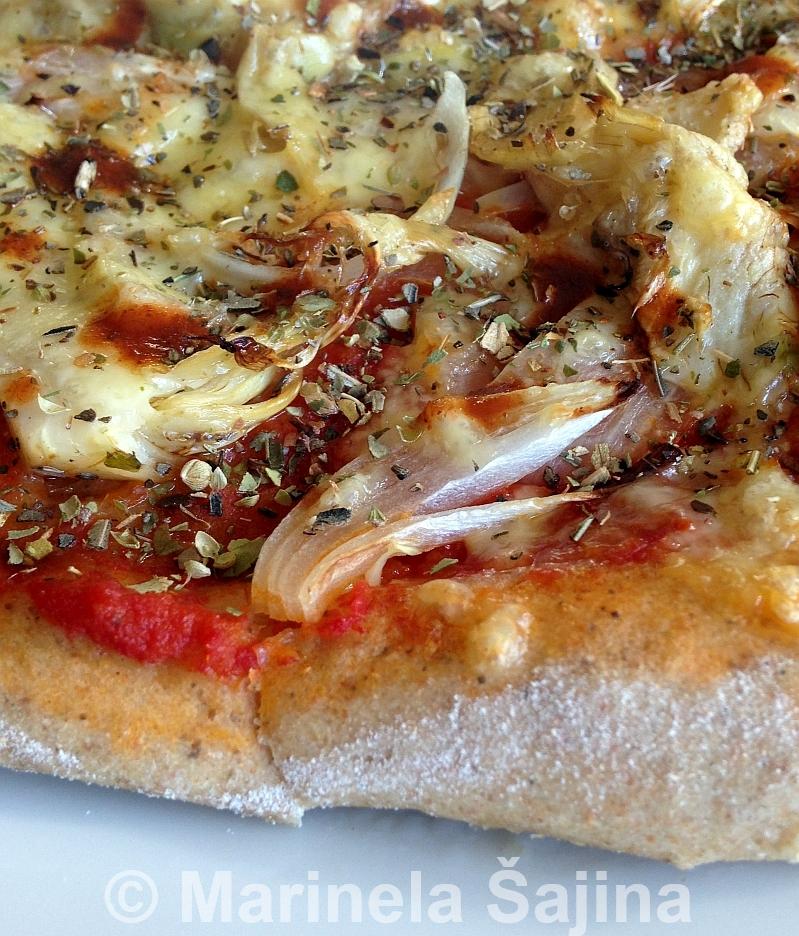 Pizza luk artičoke 1C