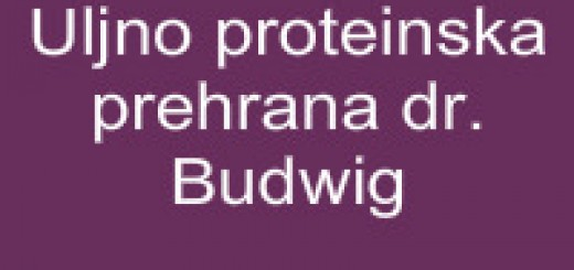 Uljno proteinska prehrana dr. Budwig