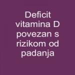 Deficit vitamina D povezan sa rizikom od padanja