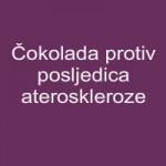 Čokolada protiv posljedica ateroskleroze